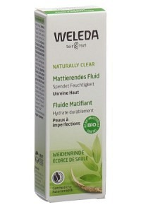 WELEDA NATURALLY CLEAR Mattierendes Fluid Tb 30 ml