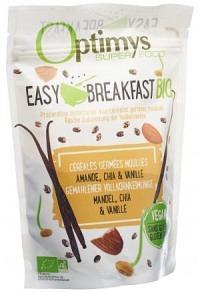 OPTIMYS Easy Breakfast Mandel Chia Vanil Bio 350 g