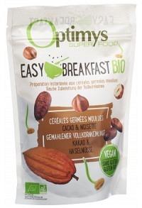 OPTIMYS Easy Breakfast Kakao Haselnüsse Bio 350 g