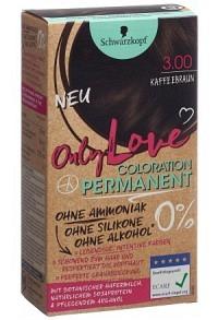 ONLY LOVE 3.00 kaffeebraun + Sticker
