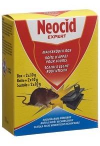NEOCID EXPERT Mäuse-Köderbox Box 20 g (Achtung! Versand nur INNERHALB der SCHWEIZ möglich!)