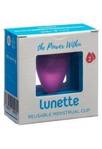 LUNETTE Menstruationstasse Gr2 lila