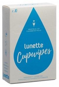 LUNETTE Cupwipe Reinigungstücher 10 Stk