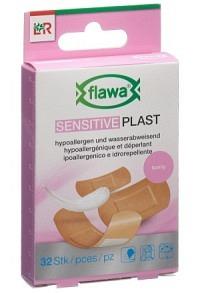 FLAWA SENSITIVE Plast Pflasterrstrips 3 Gr 32 Stk