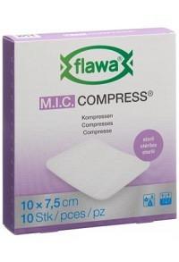 FLAWA MIC Kompressen 7.5x10cm steril 10 Stk