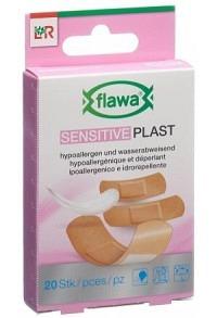 FLAWA SENSITIVE Plast Pflasterrstrips 3 Gr 20 Stk