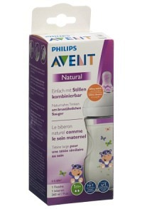 AVENT PHILIPS Naturnah Flasche 260ml Hippo