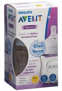 AVENT PHILIPS Naturnah Flasche 120ml Glas