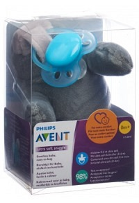 AVENT PHILIPS Snuggle+ultra soft Robbe türkis