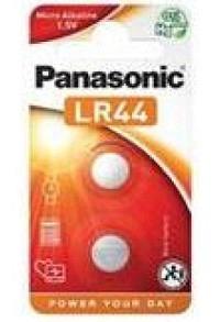 PANASONIC Batterien Knopfzelle LR44 2 Stk