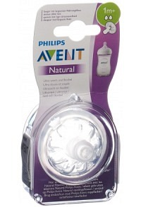 AVENT PHILIPS Natural Sauger 2 1M 2 Stk