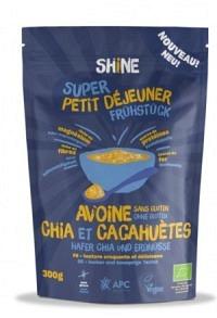 SHINE Hafer Frühstück Chia & Erdnuss 300 g