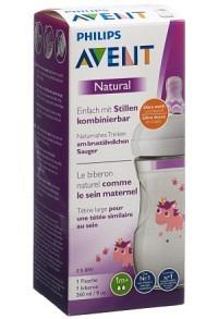 AVENT PHILIPS Natural Flasche 260ml Unicorn