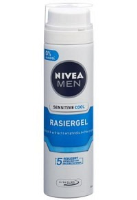 NIVEA Men Sensitive Cool Rasiergel (neu) 200 ml