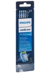 PHILIPS Sonicare Ersatzb C3 Prem HX9044/17 4 Stk