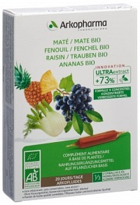 ARKOFLUIDE Ananas Mate Fench Weintr Bio 20 x 10 ml