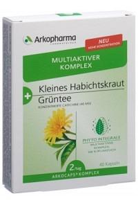 ARKOCAPS Komplex Kl Habichtskr+Grüntee Kaps 40 Stk
