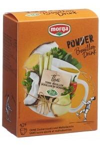 MORGA PowerPowder BouillonDri Thai Bio 10 Btl 4 g