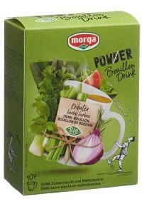 MORGA PowerPowder BouillonDri Kräu Bio 10 Btl 4 g