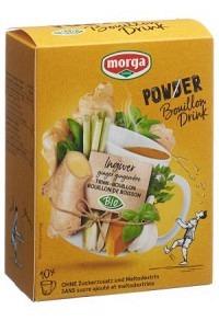 MORGA PowerPowder BouillonDri Ingw Bio 10 Btl 4 g