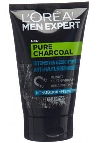 MEN EXPERT Pure Charcoal Peeling Anti-Haut 100 ml