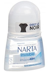NARTA Deo Women Roll on Invisible 50 ml