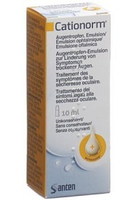 CATIONORM MD Augentropfen-Emulsion Fl 10 ml