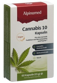 ALPINAMED Cannabis 10 Kaps 60 Stk