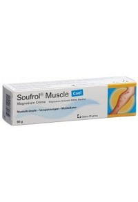 SOUFROL Muscle Magnesium Creme Cool Tb 60 g