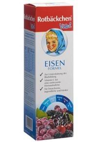 RABENHORST Rotbäckchen Vital Eisen Formel 450 ml