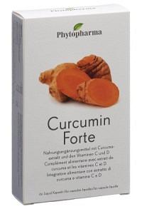 PHYTOPHARMA Curcumin Forte Liquid Kapseln 60 Stk