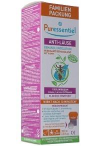 PURESSENTIEL Anti-LäuseLotion mit Kamm 200 ml