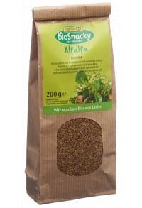 BIOSNACKY Alfalfa Luzerne Btl 200 g