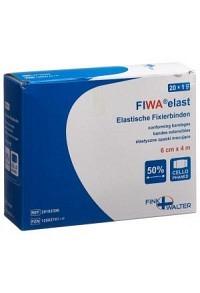 FIWA Elast Fixierbinden 6cmx4m einz Cellux 20 Stk