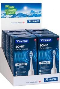 TRISA Sonic Performance Schallzahnbür Disp 6Stk