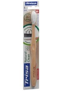 TRISA Natural Clean Holzzahnbürste soft