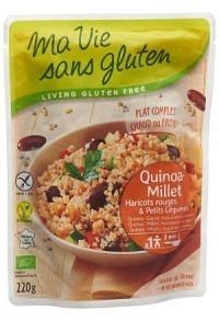 MA VIE S GLUT Fertiggericht Quinoa Hirse 220 g