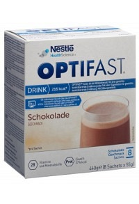 OPTIFAST Drink Schokolade 8 Btl 55 g