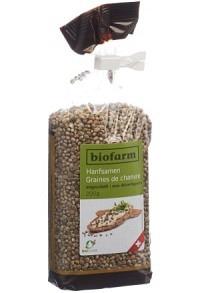 BIOFARM Hanfsamen ungeschält Knospe CH 200 g