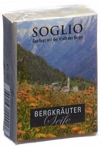SOGLIO Bergkräuter-Seife 95 g