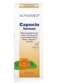 ALPINAMED Capucin Immun Tabl Ds 60 Stk