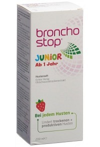 BRONCHOSTOP Junior Hustensirup Fl 200 ml