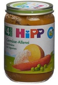 HIPP Gemüse-Allerlei Glas 190 g