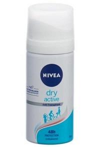NIVEA Female Deo Dry Active Aeros (neu) Spr 35 ml