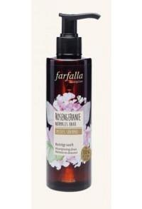 FARFALLA Mildes Shampoo Rosengeranie 200 ml