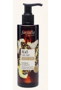 FARFALLA Volumen-Shampoo Ingwer 200 ml
