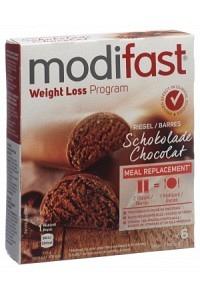 MODIFAST Programm Riegel Schokolade 6 x 31 g