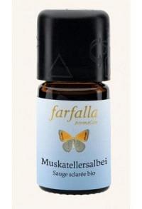 FARFALLA Muskatellersalbei Äth/Öl Bio Gr Cru 5 ml