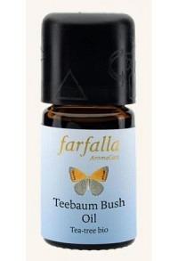 FARFALLA Teebaum Äth/Öl Bio Wildsamml Gr Cru 5 ml