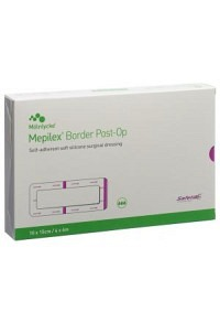 MEPILEX Border Post OP 10x15cm (neu) 10 Stk